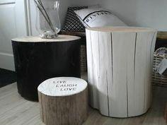≥ Boomstam salontafel 3 delige set - Tafels | Salontafels - Marktplaats.nl