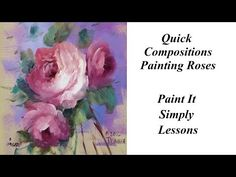 Painting Broad Petals: Pansies   Study of Flowers Book Lesson 3 - YouTube