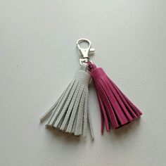 Leather Tassel Keychain.   https://www.etsy.com/listing/548899207/unique-leather-tassel-keychain?ref=shop_home_active_3