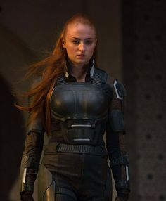 Jean Grey played by Sophie Turner in X-Men Apocalypse