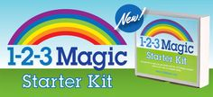 1-2-3 Magic Parenting book for structured play and competent behavior
