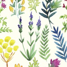 """Found it at Joss & Main - Fern Gully Removable 5' x 20"""" Floral Wallpaper"""