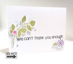 The Alley Way Stamps - Dana Warren - TAWS, Clear Stamps, Cards, From Us, Wispy Wishes