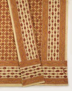 Cotton Kalamkari Printed Chakar Bed Cover