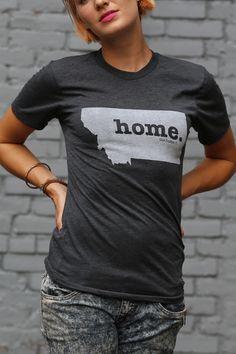 The Home. T - Montana Home T, $28.00 (http://www.thehomet.com/montana-home-t-shirt/)  #TheHomeT