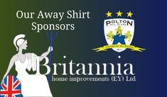 Our away shirt sponsors