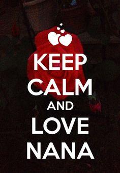 I love my nana