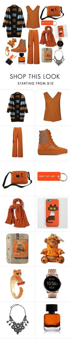 """Untitled #17"" by fitri-navilah ❤ liked on Polyvore featuring beauty, WtR, WithChic, adidas Originals, Various Projects, Vintage Addiction, MCM, FOSSIL, Lydell NYC and The Collection by Phuong Dang"