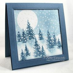 Let It Snow by kittie747 - Cards and Paper Crafts at Splitcoaststampers