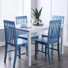 Simple Living Bamboo 5 Piece Dining Set Home Pinterest