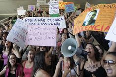 5/27/16 Gang Rape Posted To Social Media Is Forcing Brazil To Confront Violence Against Women. Police learned of the brutal crime after a video glorifying it surfaced on Twitter. The footage set off a firestorm on social media and brought national attention to thereported gang-rape of a 16-year-old by as many as 33 men in Rio de Janeiro. http://www.huffingtonpost.com/entry/report-of-gang-rape-surfaced-on-social-media-shocks-brazil_us_57489146e4b03ede4414c68a
