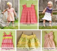 $6 Fun, Easy, and Adorable PDF Sewing Patterns - 2 Pack at VeryJane.com
