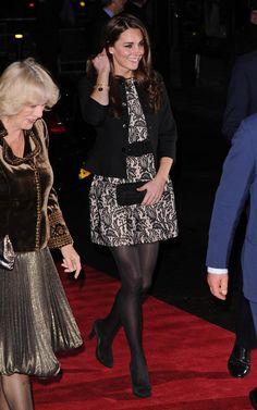 Kate Middleton in Zara dress at Prince's Trust Concert