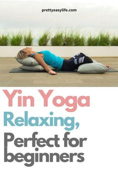 Yin Yoga poses and postures allow for deep relaxation and improves flexibility. Using props, bolsters and blocks, Yin Yoga is excellent for beginners. Yin yoga is a slow pace practice where… Yoga Meditation, Yoga Régénérateur, Yoga Yin, Yoga Flow, Vinyasa Yoga, Hot Yoga, Yoga Fitness, Fitness Tips, Fitness Plan