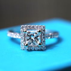 princess cut halo...im so in love :)) i dont need the husband just give me the ring!