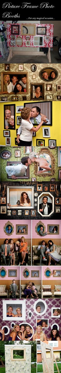 Picture Frame Photo Booths, for any magical occasion...