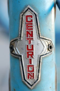 Centurion head badge