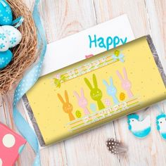 Personalised kids happy easter money box easter gifts personalised kids happy easter money box easter gifts pinterest brand new kid and money negle Image collections
