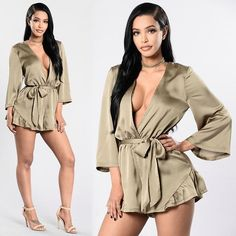 "❤️SHOP NEW ARRIVALS❤️⠀⠀ Search: ""Anything For You Choker""⠀ Search: ""Restless Love Romper""⠀ Search: ""Strapped For Success Heel""⠀ ✨www.FashionNova.com✨"