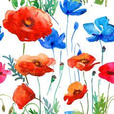 Flores en Acuarela …