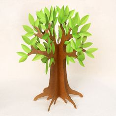 Trendy spring tree crafts for kids fun 3d Tree, Tree Art, Tree Crafts, Paper Crafts, How To Make Trees, Cardboard Tree, Trees For Kids, Fun Crafts For Kids, Craft Kids