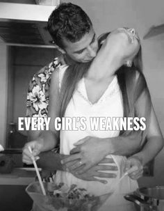 Every girl's weakness. I love when he does this
