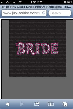 #bride #zebraprint #bling #wedding