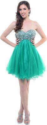 2012 green short vintage homecoming dress