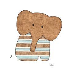 Sitting Elephant #1