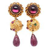 Dominique Aurientis Poured Glass Earrings