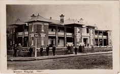 Windsor Hospital, NSW Old Pictures, Old Photos, Vintage Photos, Local History, Family History, First Fleet, Australian Road Trip, Vintage Medical, Historic Houses