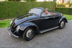 1949 Volkswagen Hebmuller Cabriolet - Treffen 2014 photos, Volkswagen Show Photos