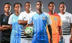 Botswana 2021/22 Umbro Home, Away and Third Kits
