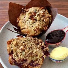 Fruity Granola Muffins