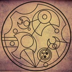 """words written in circular gallifreyan - """"all of time and space"""""""