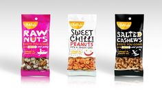 bb4af25bfba5a Lifestyle Snack Range Packaging for Provender Australia by Onfire Design