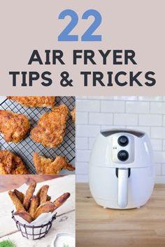 Here is the ultimate guide to everything you need to know about using your Air Fryer! A complete list of general Air Frying tips, some tricks and troubleshooting too. Check out this list and become an expert air fryer. Phillips Air Fryer, Blue Jean Chef, Cooking App, Cooking Games, Cooking Beets, Cooking Pasta, Cooking Rice, Cooking Turkey, Cooking Videos