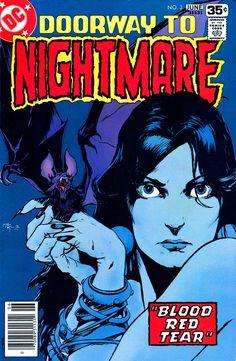 Doorway To Nightmare n°3, June 1978, cover by MW Kaluta