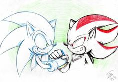 [Sonic] It doesn't matter by mizusawa-yuki on DeviantArt Shadow The Hedgehog, Sonic The Hedgehog, Sonic And Shadow, Sonic Fan Art, Freedom Fighters, Rogues, Design Art, Chibi, Cool Pictures