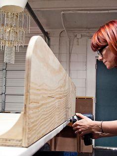 DIY Upholstered Diamond Tufted Headboard   DIY Home Decor and Decorating Ideas   DIY