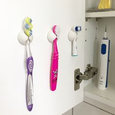 Kabelhållare för tandborstar