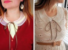 Grosgrain: DIY Collar Necklaces as Hip Christmas Gifts FREE PATTERN
