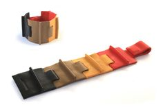 The Lab: Camille Roussel - Modular leather jewelry