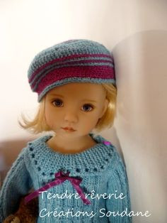 "LITTLE DARLING DIANNA EFFNER    Face up by Joyce Matthews.  Outfit ""Tendre rêverie"" by soudane"