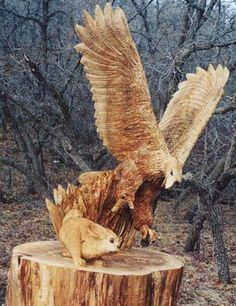 eagle and rabbit