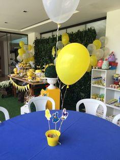 Festas Personalizadas em Brasília: Pintinho Amarelinho No Bake Cake, Baking Recipes, Cake Baking, Table Decorations, Sweet, Joseph, Party, Home Decor, Lion And Lamb