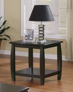 Coaster 701077 Transitional End Table Cappuccino New- Half the price new on amazon!!