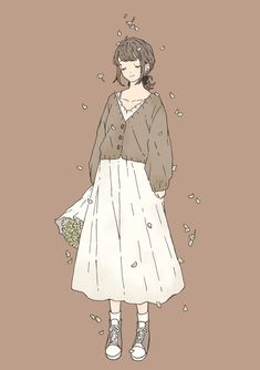 Cute Anime Character, Character Outfits, Character Art, Cute Art Styles, Cartoon Art Styles, Arte Indie, Fashion Design Drawings, Cute Cartoon Wallpapers, Kawaii Art