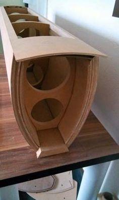 Speaker Box Diy, Custom Speaker Boxes, Speaker Box Design, Audiophile Speakers, Hifi Audio, Audio Speakers, Diy Furniture Videos, Sound Stage, Audio Design