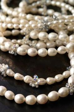 Pearls ~ A girl's other best friend!